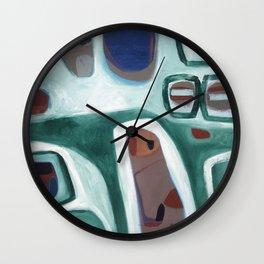 Rock Face Wall Clock