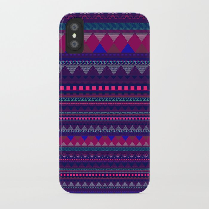 KNITTED AZTEC PATTERN  iPhone Case