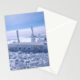 Mount Washington Observatory, Winter, New Hampshire Stationery Cards