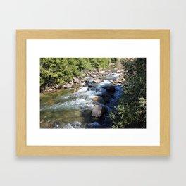Kern River Rocky Framed Art Print