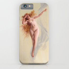 "Luis Ricardo Falero ""Dawn"" iPhone Case"