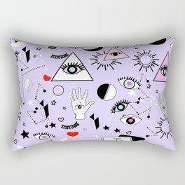 Black Magic Rectangular Pillow