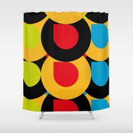 I Love Colors, and tiny little mistakes in the top right corners.... :) Shower Curtain