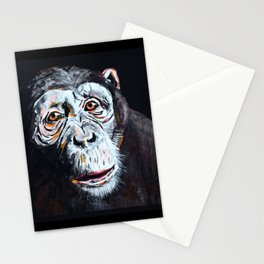 Chimpanzee: One Survivor Stationery Cards