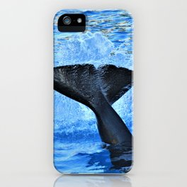 Whale of a Tail by Reay of Light Photography iPhone Case