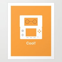 nintendo Art Prints featuring Nintendo 3DS by Anth Rodi