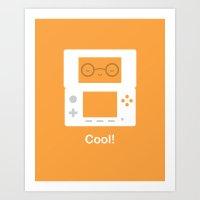 nintendo Art Prints featuring Nintendo 3DS by Anth Rodi