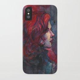 Widow iPhone Case