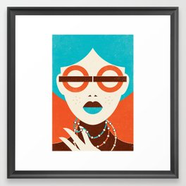 Underground Fashion Framed Art Print
