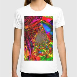 Psychedelic Kites From Another Dimension T-shirt