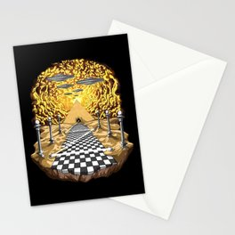 Alien Egyptian Pyramids  Stationery Cards