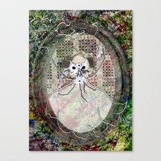 Gas Mask Mama Canvas Print
