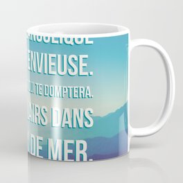 French Poetry Words of Love Coffee Mug