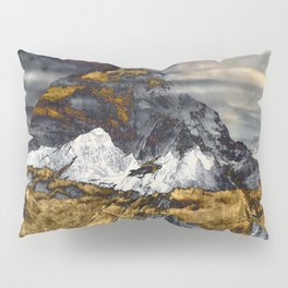 Gold Mountain Pillow Sham