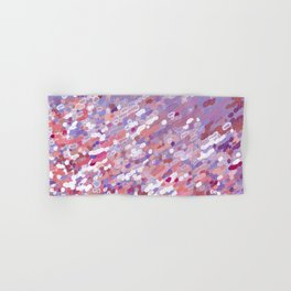 Violet Wave Reflections Hand & Bath Towel
