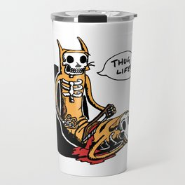 CatDog by zombieCraig Travel Mug