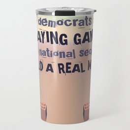 Build A Real Wall Travel Mug