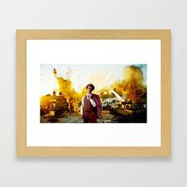 Action Exsplosions :Napoleon Dynamite Framed Art Print