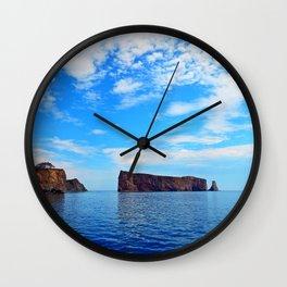 Perce Rock and Cliff Wall Clock
