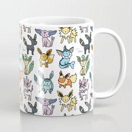 Eeveelution Doodle Coffee Mug