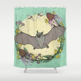 big brown bat. Shower Curtain
