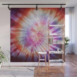 Rainbow swirl Wall Mural
