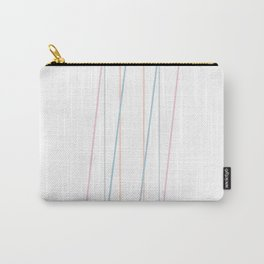 Intertwined Strength and Elegance of the Letter I Carry-All Pouch