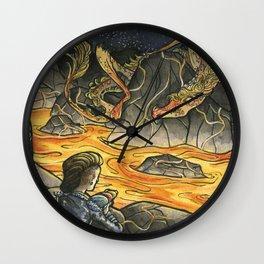 Alice & The Jabberwocky Wall Clock