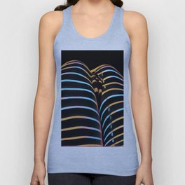 2634s-AK Striped Thighs Bottoms Up Intimate Abstract by Chris Maher Unisex Tank Top