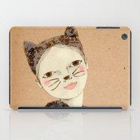 kiki iPad Cases featuring Kiki Kitty by Irena Sophia