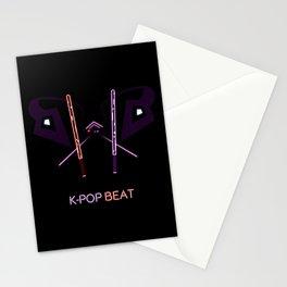 K-POP Beat V2 Stationery Cards