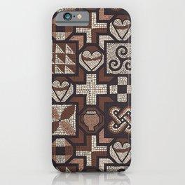 Roman Mosaic - Lullingstone iPhone Case