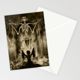 Dark Victorian Portrait Series: Lady Charlotte Nightshade, Her Majesty's Necromancer Stationery Cards