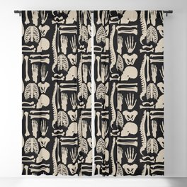 Osteology Blackout Curtain