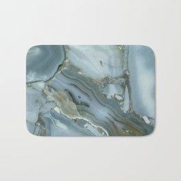 Slate Blue Lace Agate Bath Mat