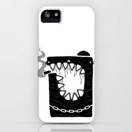 Zombie Hoodlum iPhone Case