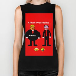 Clown Presidents Biker Tank