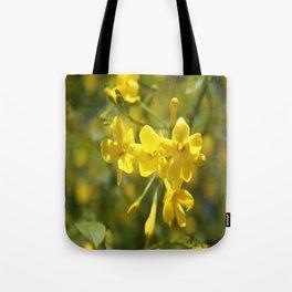 Fragrant Yellow Flowers Of Carolina Jasmine Tote Bag