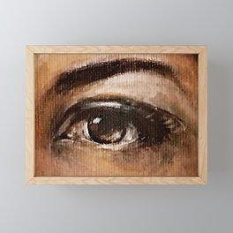 Eye Study #3 Framed Mini Art Print