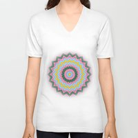 doors V-neck T-shirts featuring Open doors by Elias Zacarias