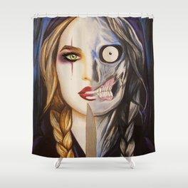 Hel Of Helheim Shower Curtain