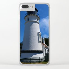 Lighthouse on Winchester Bay Clear iPhone Case