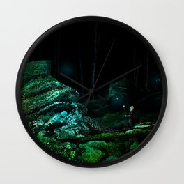 Silent Overgrowth Wall Clock