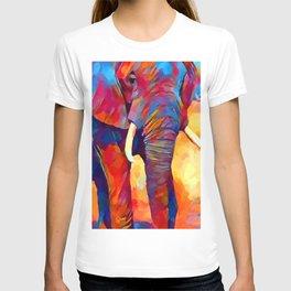 Elephant Watercolor T-shirt