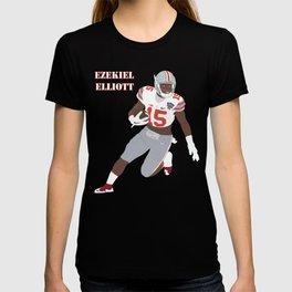 Ohio State Buckeyes - Ezekiel Elliott (2015) (Vector Art) T-shirt