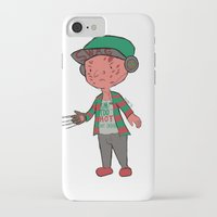 freddy krueger iPhone & iPod Cases featuring Horror Hipsters - Freddy Krueger by Duddy In Motion