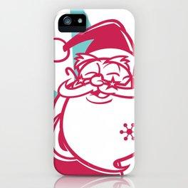 Funky Santa iPhone Case