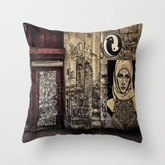 West Village Wall Throw Pillow