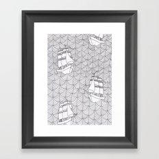 Ships Framed Art Print