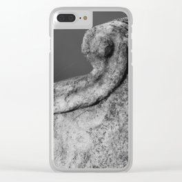 rural stone Clear iPhone Case